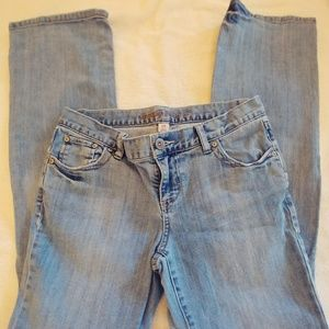 Mossimo Size 9 Light Wash Jeans
